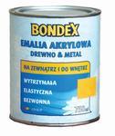 Emalia akrylowa 0,75 l Drewno & Metal BONDEX