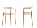 Drewniane krzesło Steelwood DECOINA - zdjęcie 4
