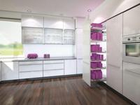 Przechowywanie żywności w kuchni. Carga – kosze na prowadnicach