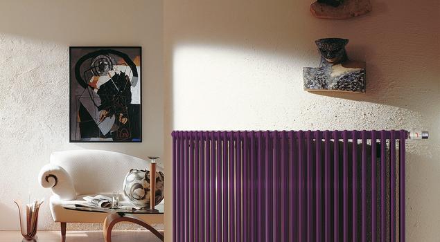 Zehnder Charleston –żeberkowe grzejniki dekoracyjne do salonu