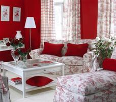 Salon w stylu francuskim dekoria Avinon