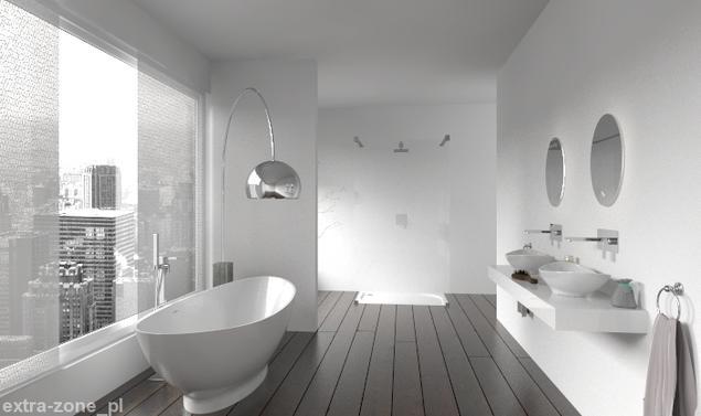 Zobacz Galerię Zdjęć Biała łazienka W Mieście Nowoczesne Aranżacje