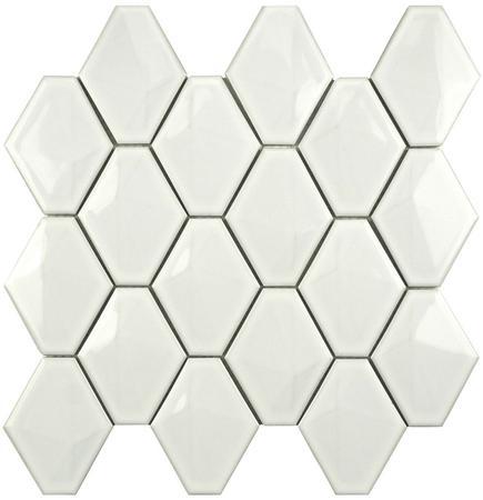 Mozaikowe płytki ceramiczne Diamond Black&White MOZAIKOWE.PL