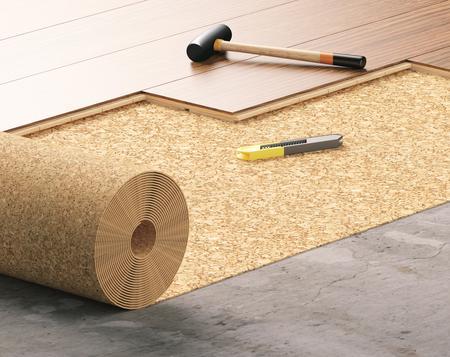 Podkład podłogowy Expert Cork Roll CEZAR