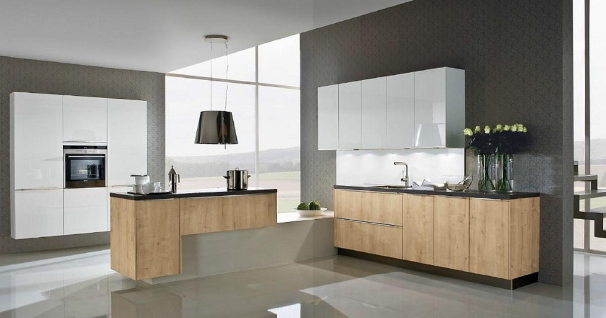 Białe meble kuchenne, nowoczesne aranżacje kuchni -> Kuchnie Nowoczesne Aranżacje