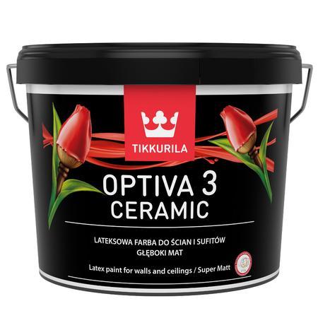 Farba lateksowa Tikkurila Optiva Ceramic Super Matt