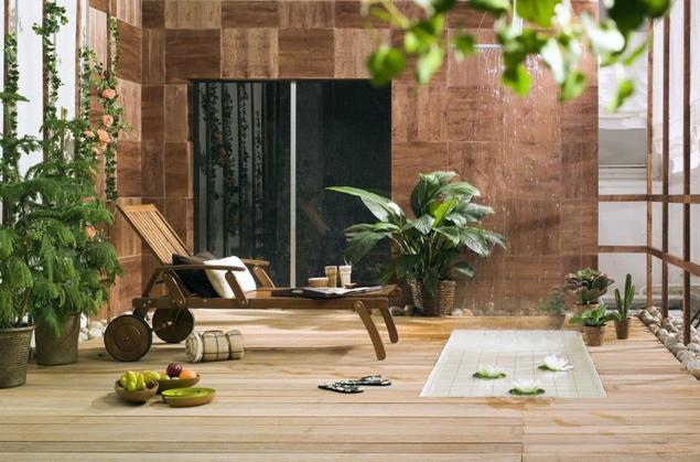 Leżak ogrodowy, deski ogrodowe, donice – recepta na nowoczesny taras