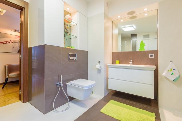 Nowoczesna łazienka. Aranżacja małej łazienki