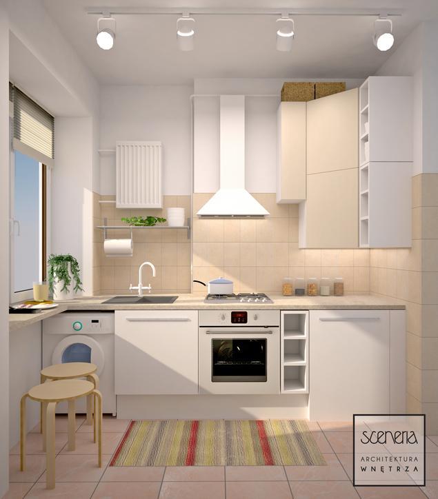Zobacz galerię zdjęć KUCHNIA W BLOKU  Stronywnętrza pl -> Kuchnia W Bloku Galeria Zdjeć