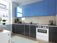 Kolorowe szkło na ścianę do kuchni. Nowoczesne aranżacje kuchni