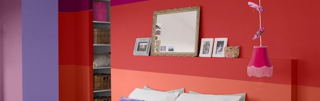 Modne kolory ścian. Satynowe farby do wnętrz Colorissim od V33