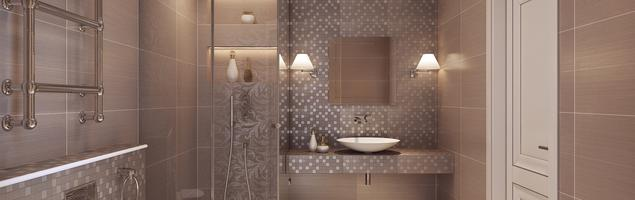 Beżowa łazienka – elegancka aranżacja łazienki