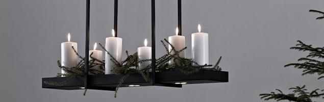 Lampa wisząca jako podstawa na dodatki dekoracyjne